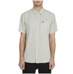 Camisa Volcom: SUN MEDALLION SS (RESIN BLUE)