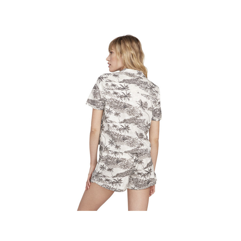 Camisa Volcom: GEN WOW SS (STAR WHITE)