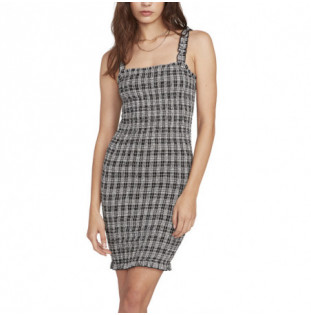 Vestido Volcom: SEERIOUSLY DRESS (BLACK COMBO)