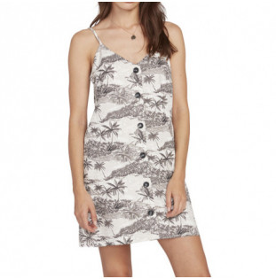 Vestido Volcom: VACAY ME DRESS (STAR WHITE)