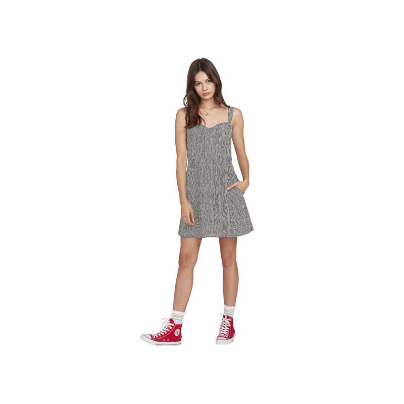 Vestido Volcom: NEWDLES DRESS (STRIPE)