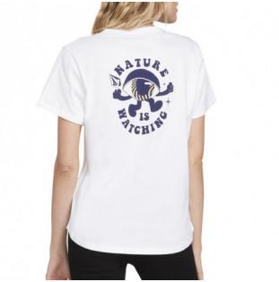 Camiseta Volcom: VOLNECK TEE (WHITE)