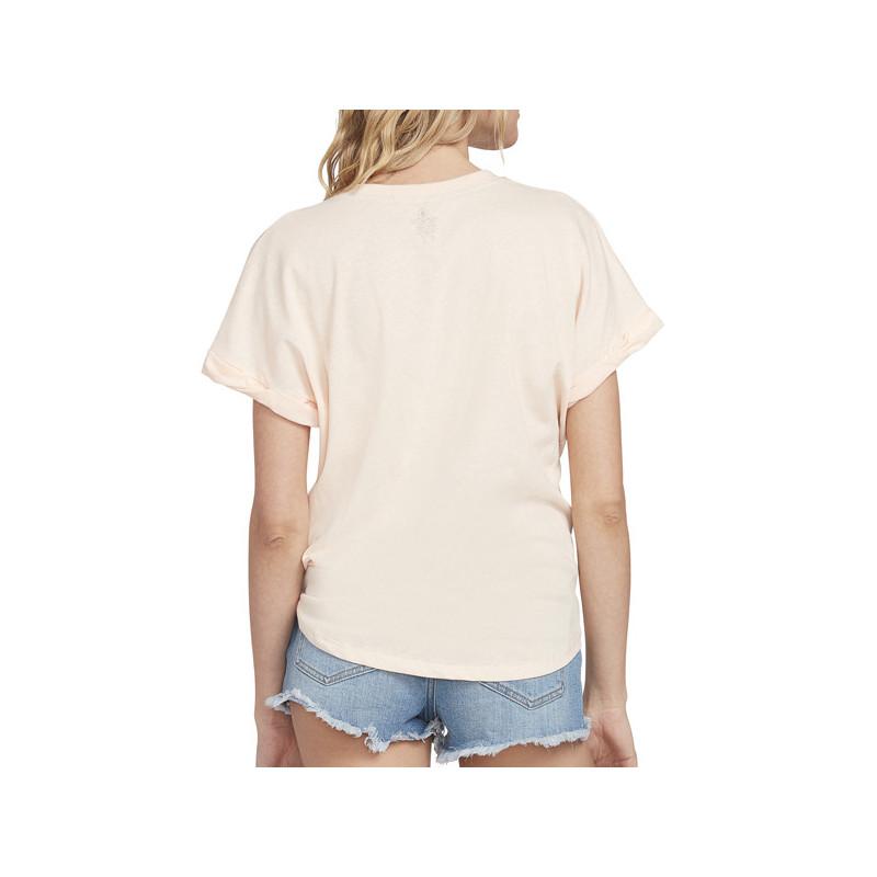 Camiseta Volcom: BREAKNOT SS (LIGHT PEACH)