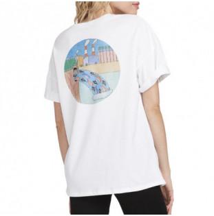Camiseta Volcom: P. C. AYERS FA SS (WHITE FLASH)