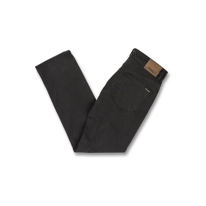 Pantalón Volcom: SOLVER DENIM (INK BLACK)