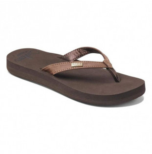 Chanclas Reef: W REEF CUSHION LUNA (Brown) Reef - 1