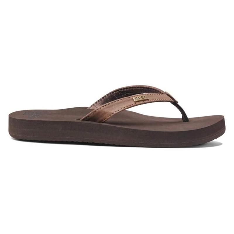 Chanclas Reef: W REEF CUSHION LUNA (Brown)