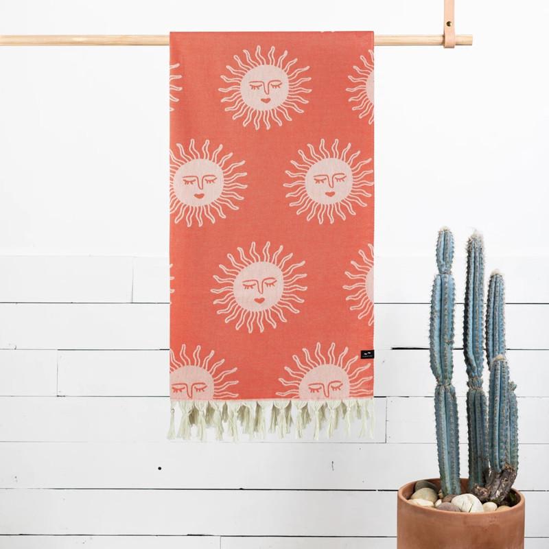 Toalla Slowtide: Sunny (Red)