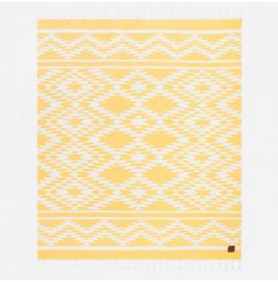 Toalla Slowtide: Chico Blanket (Mustard)