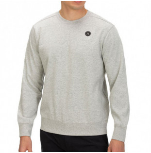 Sudadera Hurley: THERMA PROTECT CREW FLEECE (GREY HEATHER)