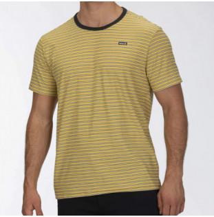 Camiseta Hurley: FEEDER STRIPE SS (INFINITE GOLD) Hurley - 1