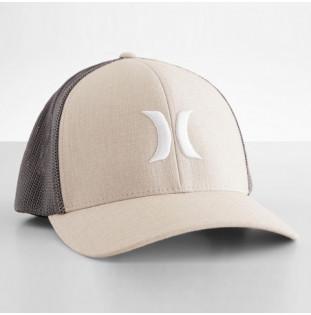 Gorra Hurley: ICON TEXTURES HAT (LIGHT BONE)
