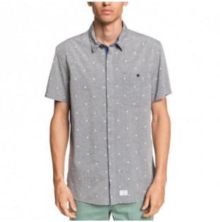 Camisa Quiksilver: CLUB DE MER SS (DGH MINI MOTIF SPORTLINE)