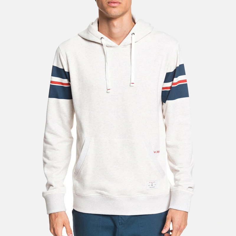 Sudadera Quiksilver: ERROTA HOODIE (SNOW WHITE HEATHER)