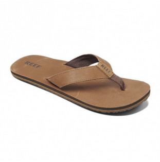 Chanclas Reef: M Reef Leather Smoothy (BRONZE BROWN)