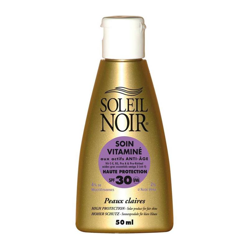 Crema Soleil Noir: SOIN VITAMIN 30 haute protection (50 ML)