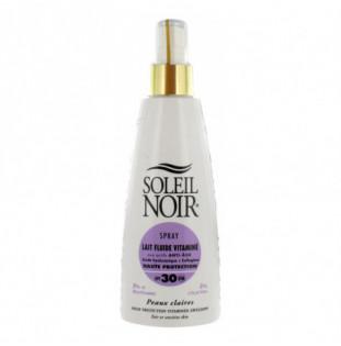 Crema Soleil Noir: SPRAY LAIT 30 fluide vitaminé (150 ML) Soleil Noir - 1