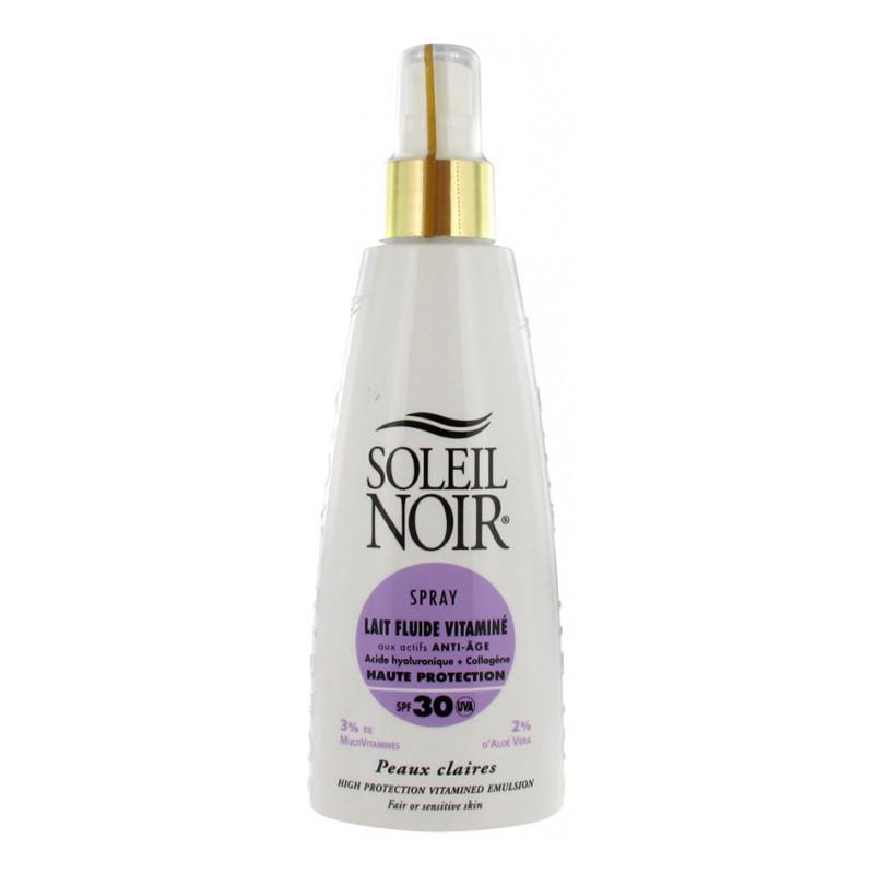 Crema Soleil Noir: SPRAY LAIT 30 fluide vitaminé (150 ML)