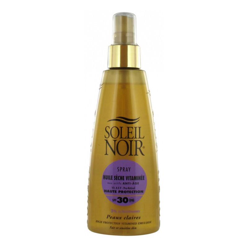 Crema Soleil Noir: HUILE SECHE 30 spray vitaminé (150 ML)