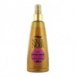 Crema Soleil Noir: HUILE SECHE 50 spray vitaminé (150 ML) Soleil Noir - 1