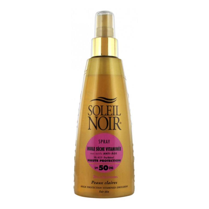Crema Soleil Noir: HUILE SECHE 50 spray vitaminé (150 ML)