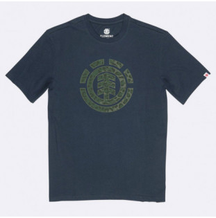 Camiseta Element: LEOPARD ICON FILL SS (ECLIPSE NAVY)
