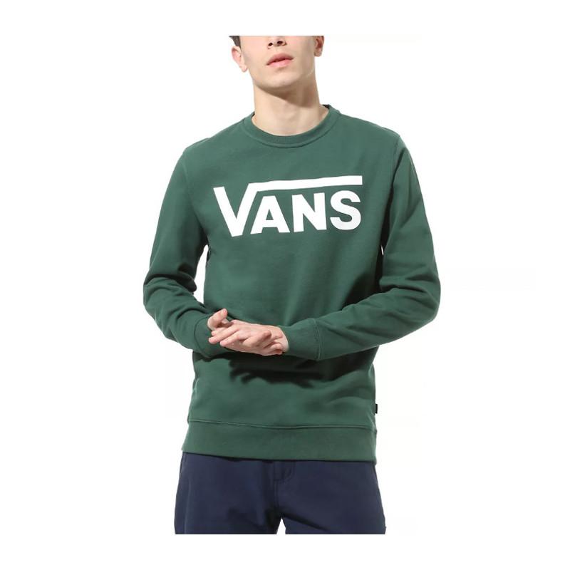 Sudadera Vans: MN VANS CLASSIC CREW II (PINE NEEDLE)