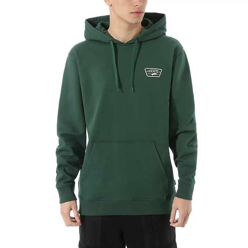 Sudadera Vans: MN FULL PATCHED PO II (PINE NEEDLE)