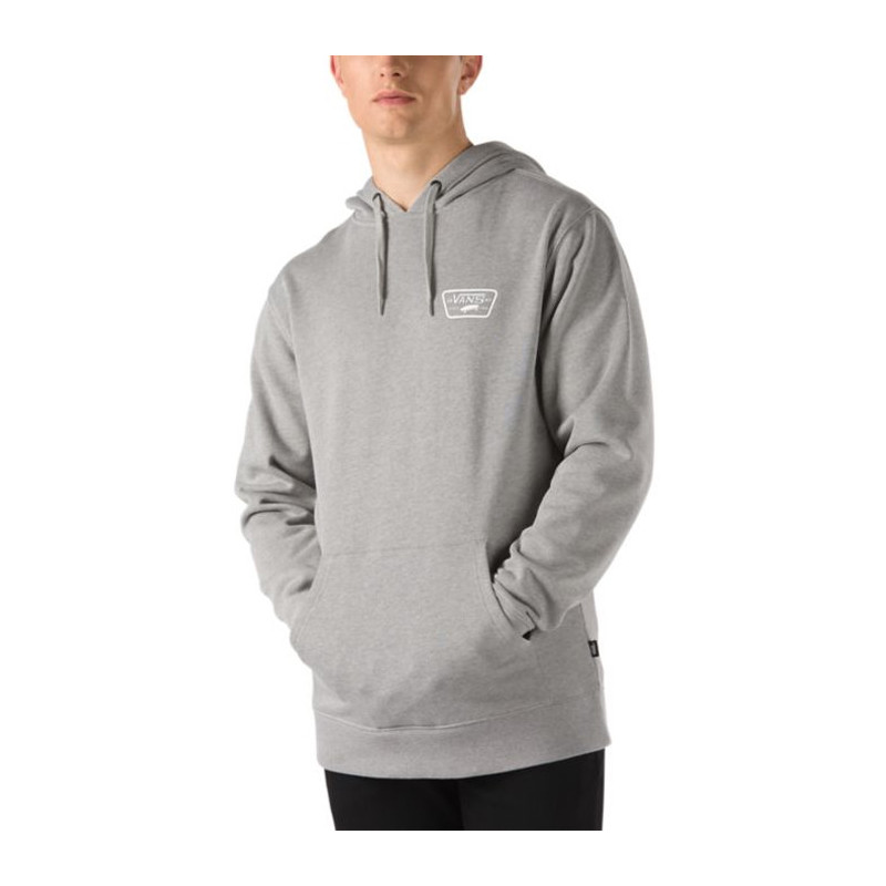 Sudadera Vans: MN FULL PATCHED PO II (CEMENT HEATHER)