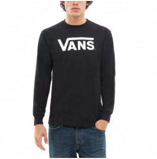 Camiseta Vans: MN VANS CLASSIC LS (BLACK WHITE) Vans - 1