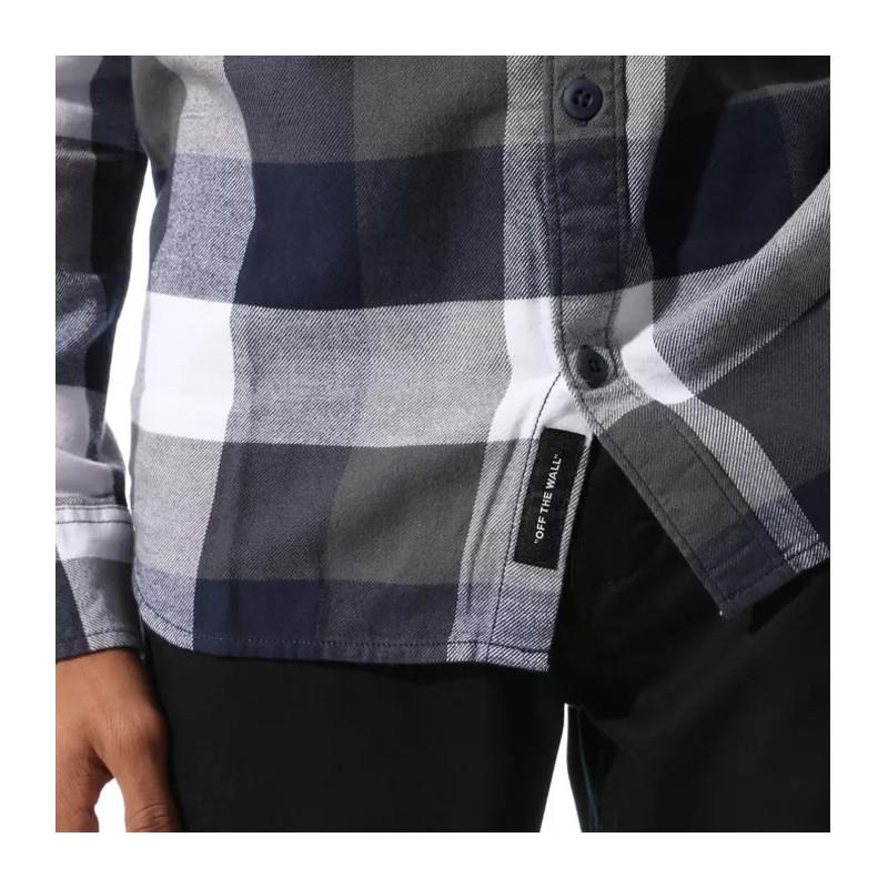 Camisa Vans: MN BOX FLANNEL (WHITE DRESS BLUES)