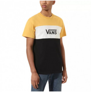 Camiseta Vans: MN RETRO ACTIVE SS (HONEY GOLD BLACK) Vans - 1