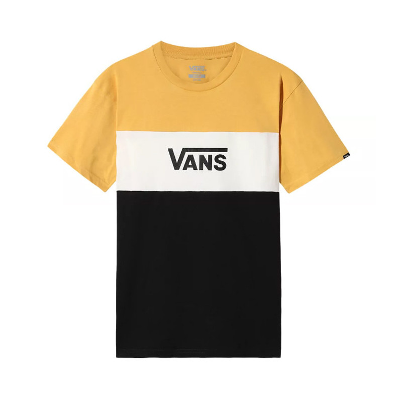 Camiseta Vans: MN RETRO ACTIVE SS (HONEY GOLD BLACK)
