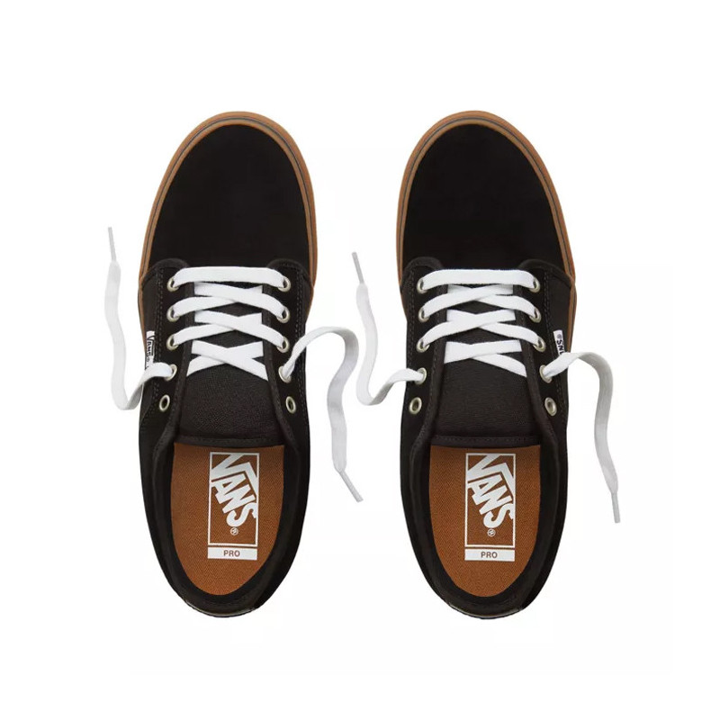 Zapatillas Vans: MN Chukka Low (BLACK BLACK GUM)