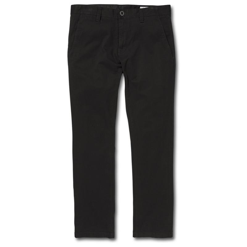 Pantalón Volcom: FRICKIN SLIM CHINO (BLACK)