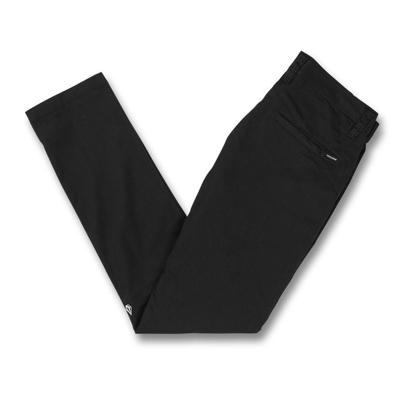 Pantalón Volcom: FRICKIN SKINNY CHINO (BLACK)