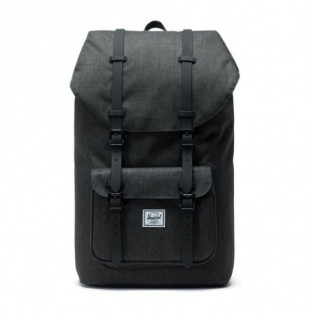 Mochila Herschel: Little America (Black Crosshatch Black) Herschel - 1