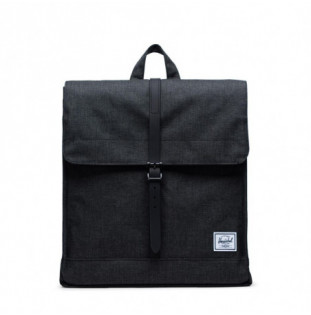 Mochila Herschel: City Mid Volume (Black Crosshatch Black) Herschel - 1