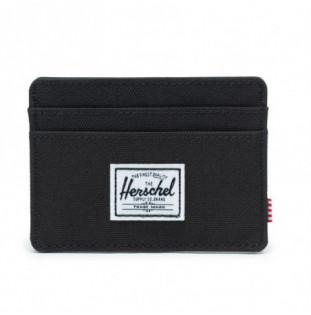 Cartera Herschel: Charlie RFID (Black)