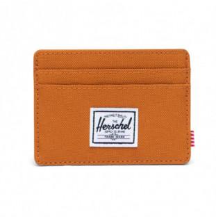 Cartera Herschel: Charlie RFID (Pumpkin Spice)