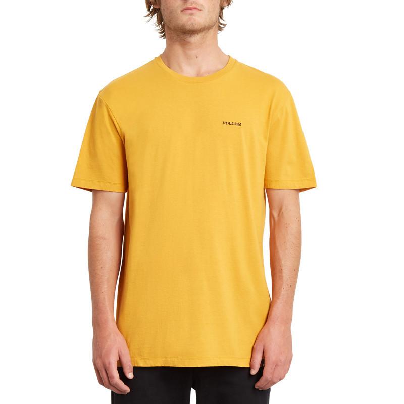 Camiseta Volcom: CRASS BLANKS LTW SS (INCA GOLD)