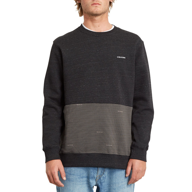 Sudadera Volcom: FORZEE CREW (HEATHER BLACK)