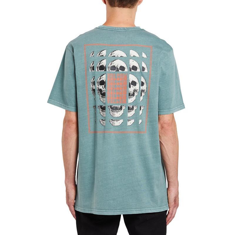 Camiseta Volcom: CONCUSSION S/S TEE (FIR GREEN)