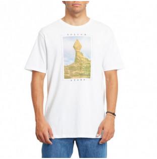 Camiseta Volcom: STONE STACK FTY SS (WHITE) Volcom - 1