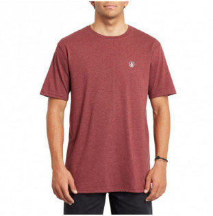Camiseta Volcom: CIRCLE BLANKS HTH SS (PORT)