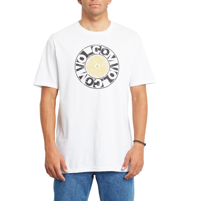 Camiseta Volcom: VORTEXSPHERE HTH SS (WHITE)