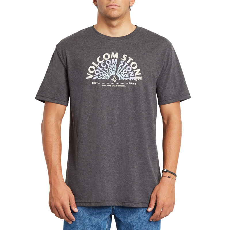 Camiseta Volcom: EMINATE HTH SS (HEATHER BLACK)