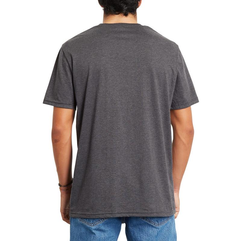 Camiseta Volcom: EMINATE HTH SS (HEATHER BLACK)
