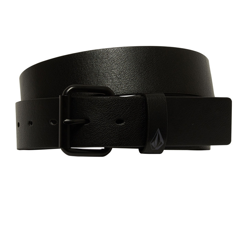 Cinturón Volcom: PISTOL PU BELT (BLACK)