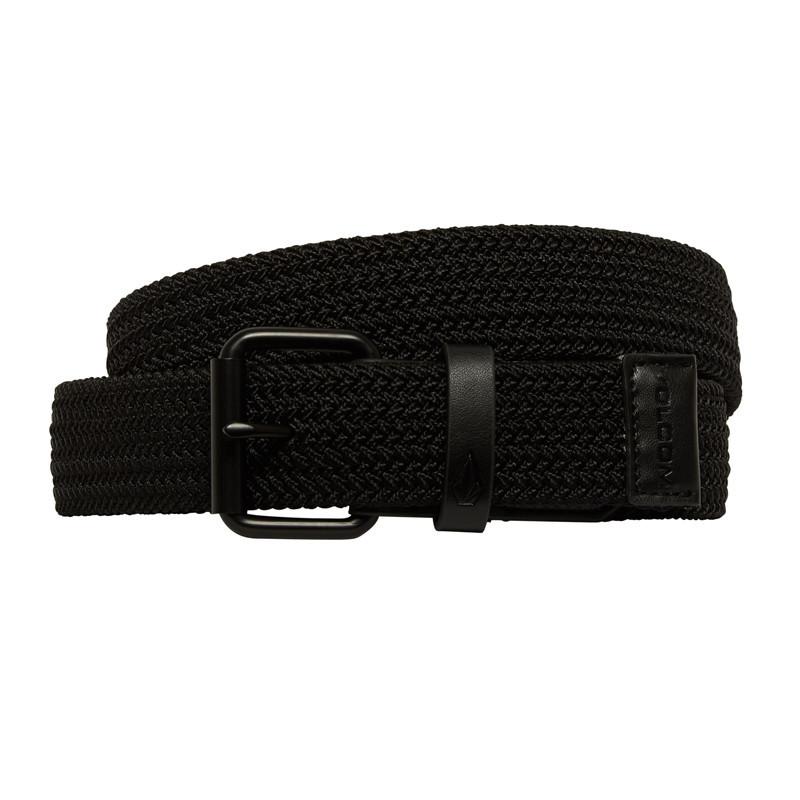 Cinturón Volcom: STONED KRUPA BELT (BLACK)